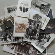 Postais: (48) LOTE DE 26 POSTALES FOTOGRAFICAS DE PERSONAJES ANTIGUOS. Lote 269811988