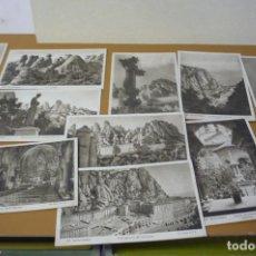 Postales: 12 TARJETAS POSTALES DE MONSERRAT ANTIGUAS. Lote 270906693