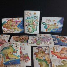 Postales: CONGRÉS DE CULTURA CATALANA 1977 / CAMPANYA PER A LA IDENTIFICACIÓ DEL TERRITORI / 15 POSTALES.. Lote 275267503