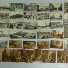 Cartoline: COLECCION LOTE DE 39 ANTIGUAS TARJETAS POSTALES PRINCIPIO DE SIGLO XX. Lote 275796173