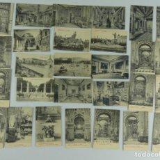 Cartoline: COLECCION LOTE DE 28 ANTIGUAS TARJETAS POSTALES DE MADRID. Lote 275796213