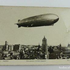 Cartoline: MADRID.- VISTA PARCIAL Y EL GRAF ZEPPELIN. Lote 275839258