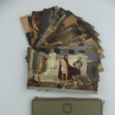 Cartoline: BLOQUE - LAS 14 ESTACIONES DEL VIA CRUCIS, COLECCION ORIGINAL GEBHARD FUGEL. Lote 275844403
