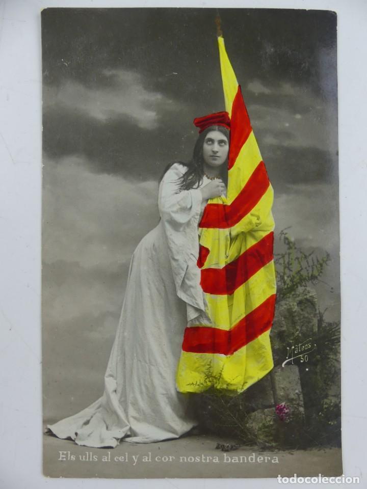 POSTAL FOTOGRAFICA CATALUNYA MATEOS 1907 CIRCULADA (Postales - Varios)