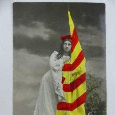 Cartoline: POSTAL FOTOGRAFICA CATALUNYA MATEOS 1907 CIRCULADA. Lote 275845223