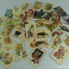 Cartoline: COLECCION LOTE DE 34 TARJETAS POSTALES DE DIFERENTES TEMAS. Lote 275846283