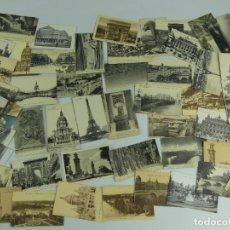 Cartoline: COLECCION LOTE DE 52 TARJETAS POSTALES DE PARIS. Lote 275846443