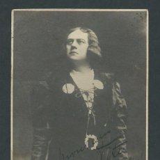 Postales: ANTIGUA POSTAL GRANDE ARTISTA OPERA FIRMADA AÑO 1920 DESCONOZCO QUE ARTISTA. Lote 275999153