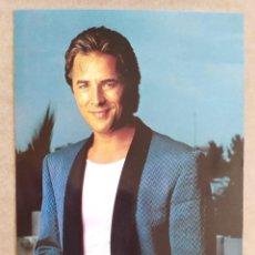 Cartoline: TARJETA POSTAL AÑOS 80 GRUPO MUSICAL DON JOHNSON. Lote 276018393