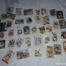 Cartoline: BELLA COLECCIÓN DE 50 ANTIGUAS POSTALES PRINCIPIOS DEL SIGLO XX. Lote 276694163