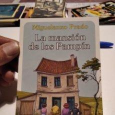 Postales: POSTAL COMICS NORMA EDITORIAL LA MANSIÓN DE LOS PAMPIN. Lote 277099768