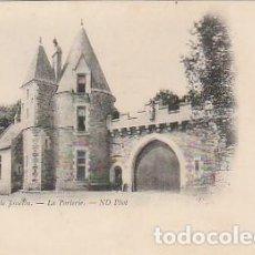 Postales: FRANCIA & CIRCULADO, LA PUERTA DE ENTRADA DEL CASTILLO DE JOSSELIN, CASCAIS PORTUGAL 1901 (12). Lote 277224858