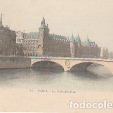Postales: FRANCIA & CIRCULADO, PARIS, LA CONSERJERÍA, LISBOA 1900 (1598). Lote 277227118