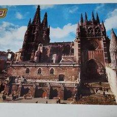 Postales: POSTAL BURGOS LA CATEDRAL. Lote 277601213
