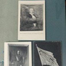 Cartoline: LOTE DE 3 POSTALES BATALLÓN DE LOS LITERARIOS.. Lote 277652523