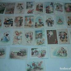 Postales: LOTE DE 30 ANTIGUAS POSTALES AÑOS 40/50/60 SIGLO XX. Lote 278956088