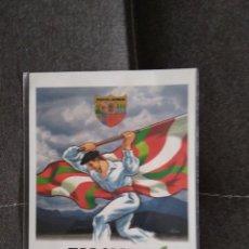 Postales: POSTAL EUSKAL HERRIA IKURRIÑA DANTZARI NUEVO. Lote 278980658