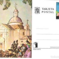 Postales: TARJETA POSTAL. ERMITA DE S. ANTONIO DE LA FLORIDA.. Lote 279330198