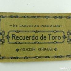 Cartes Postales: LIBRO 19 POSTALES RECUERDO DE TORO (ZAMORA) - COLECCIÓN CARBAJOSA - FOTOTIPIA DE HAUSER Y MENET. Lote 286454188