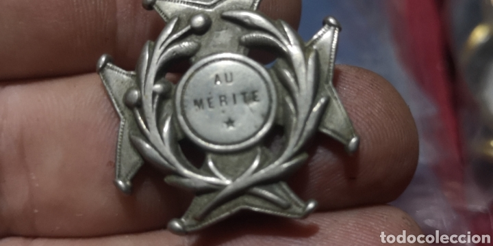 Postales: Antigua medalla de plata al Mérito parece francesa o belga - Foto 2 - 287579628
