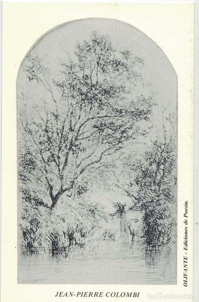 JEAN-PIERRE COLOMBI. OLIFANTE EDICIONES DE POESÍA (Postales - Varios)