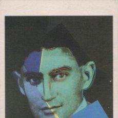 Postales: ANDY WARHOL. TEN PORTRAITS OF JEWS OF THE TWENTIETH CENTURY: FRANZ KAFKA 1980. Lote 288097193