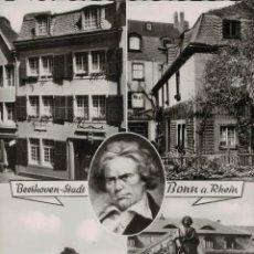 Postales: BEETHOVEN-STADT. BONN A. RHEIN. ECHT FOTO. Lote 288098223