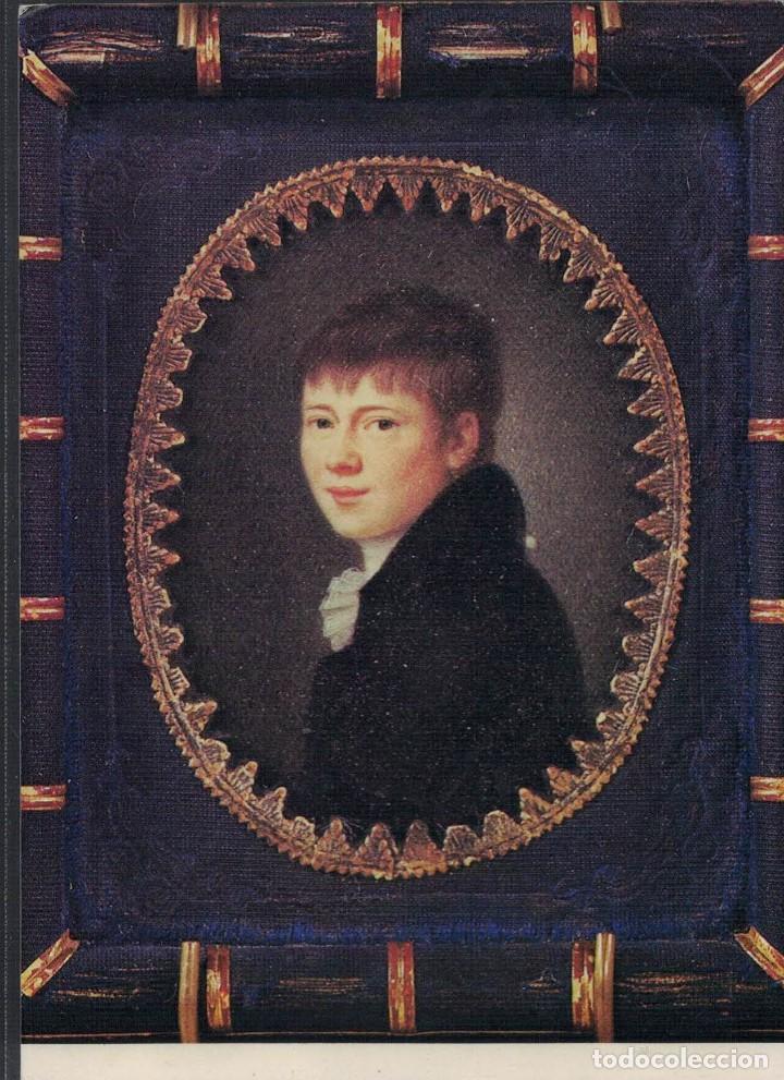 HEINRICH VON KLEIST. RETRATO DE PETER FRIEDEL 1814 (Postales - Varios)