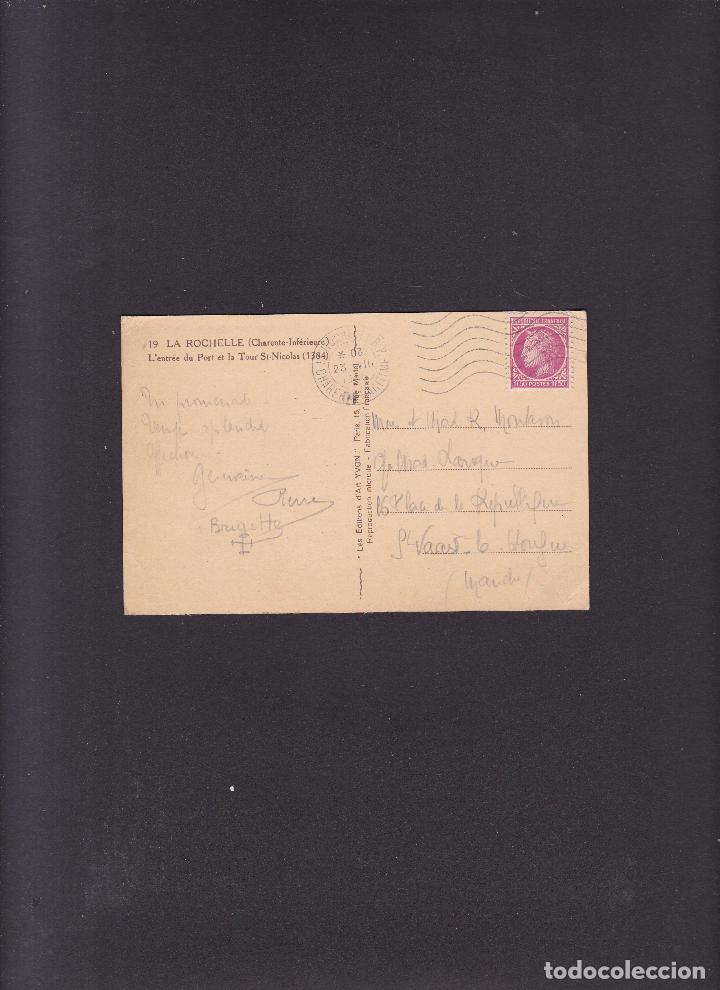 Postales: TARJETA POSTAL - LA ROCHELLE ( CHARENTE-INFÈRIEURE ) CIRCULADA 1916 - Foto 2 - 288189793