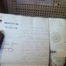 Postales: HISTORIAL MILITAR FIRMADO POR JUAN PRIM Y POR O'DONNELL. Lote 288682618