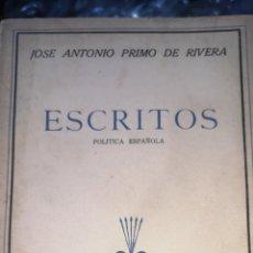 Postales: TOMO CUARTO DE LAS OBRAS COMPLETAS DE JOSÉ ANTONIO ESCRITOS, 1941 HOJAS SIN DESPEGAR. Lote 288695948