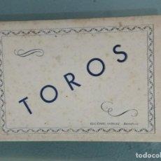 Postales: POSTALES TOROS DESPLEGABLE DE 9 POSTALES.. Lote 289443708