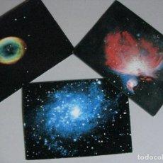 Postales: TRES POSTALES *TRIBUNA DE ASTRONOMIA* TRIANGULO / LYRA / ORION. Lote 289709513