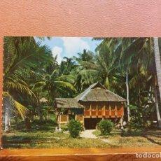 Cartoline: MALAY KAMPONG SINGAPORE. BONITA POSTAL. CIRCULADA. Lote 290251913