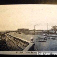 Postales: POSTAL TERRAZZA COSTANZO CLANO LIVORNO. Lote 294261733