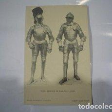Postales: REAL ARMERIA HAUSER Y MENET ARNESES DE CARLOS V POSTAL. Lote 294267853