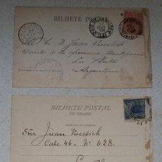 Postales: POSTALES ANOS 190507 RARASDR JUAN VUCETICH. Lote 294276558