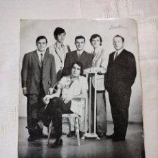 Postales: POSTAL GRUPO MUSICAL LOS ÁMBAR CARTAGENA. Lote 296580628