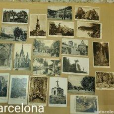 Postales: LOTE DE POSTALES ANTIGUAS. CIUDADES ESPAÑA, ETC. Lote 296585503