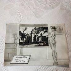 Postales: POSTAL FERRARA DALLA FINESTRA ITALIA. Lote 296608063
