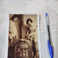 Postales: POSTAL DESNUDO REPRODUCCIÓN AÑOS VEINTE E. ANTALBE. Lote 296694688
