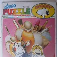 Puzzles: PUZZLE SET DE MAQUILLAJE SNOOPY -TRIDIMENSIONAL - EDUCA. Lote 24782023