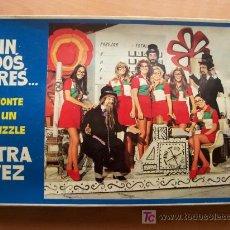 Puzzles: UN, DOS, TRES... MONTE UN PUZZLE OTRA VEZ - CAJA PUZZLE ORIGINAL DE LA PRIMERA ÉPOCA AÑO 1972. Lote 172454050