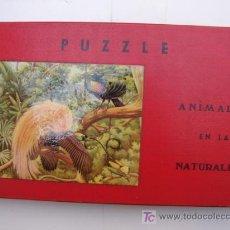 Puzzles: PUZZLE 3 - ANIMALES EN LA NATURALEZA - POSIBLE BORRAS. Lote 23517940