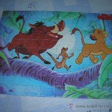 Puzzles: PRECIOSO PUZZLE DISNEY DE EL REY LEON. MIDE 35 X 24 CM., VER.. Lote 10880704