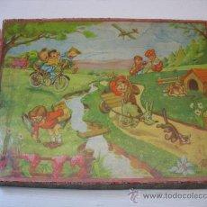 Puzzles: PUZZLE DE CUBOS CON IMAGENES INFANTILES. Lote 22133538