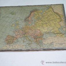 Puzzles: ANTIGUO PUZZLE EN MADERA . MAPA DE EUROPA MEDIDAS 23 X 30 CMS. Lote 13808808