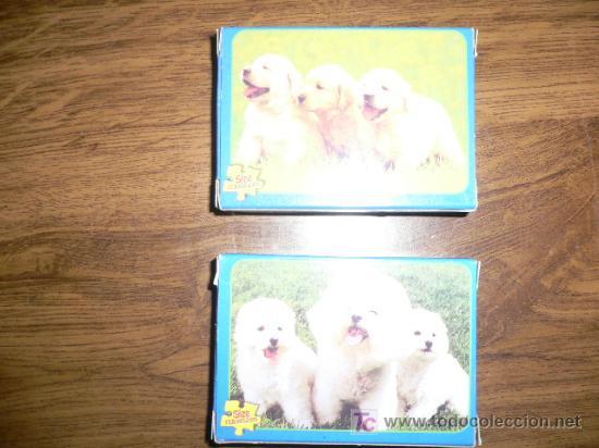 2 MINI PUZLES DE ANIMALES (Juguetes - Juegos - Puzles)