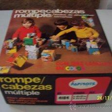 Puzzles: ROMPECABEZAS MÚLTIPLE- PAPIROTS-CON DADOS DE DIFERENTES TAMAÑOS-SIN USAR . Lote 16065092