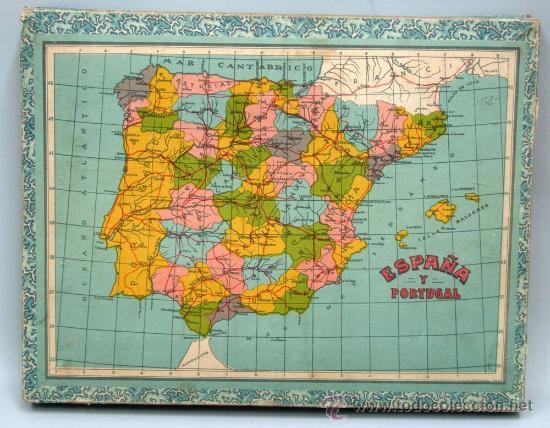 Rompecabezas 6 Mapa Mundo España America Asia E